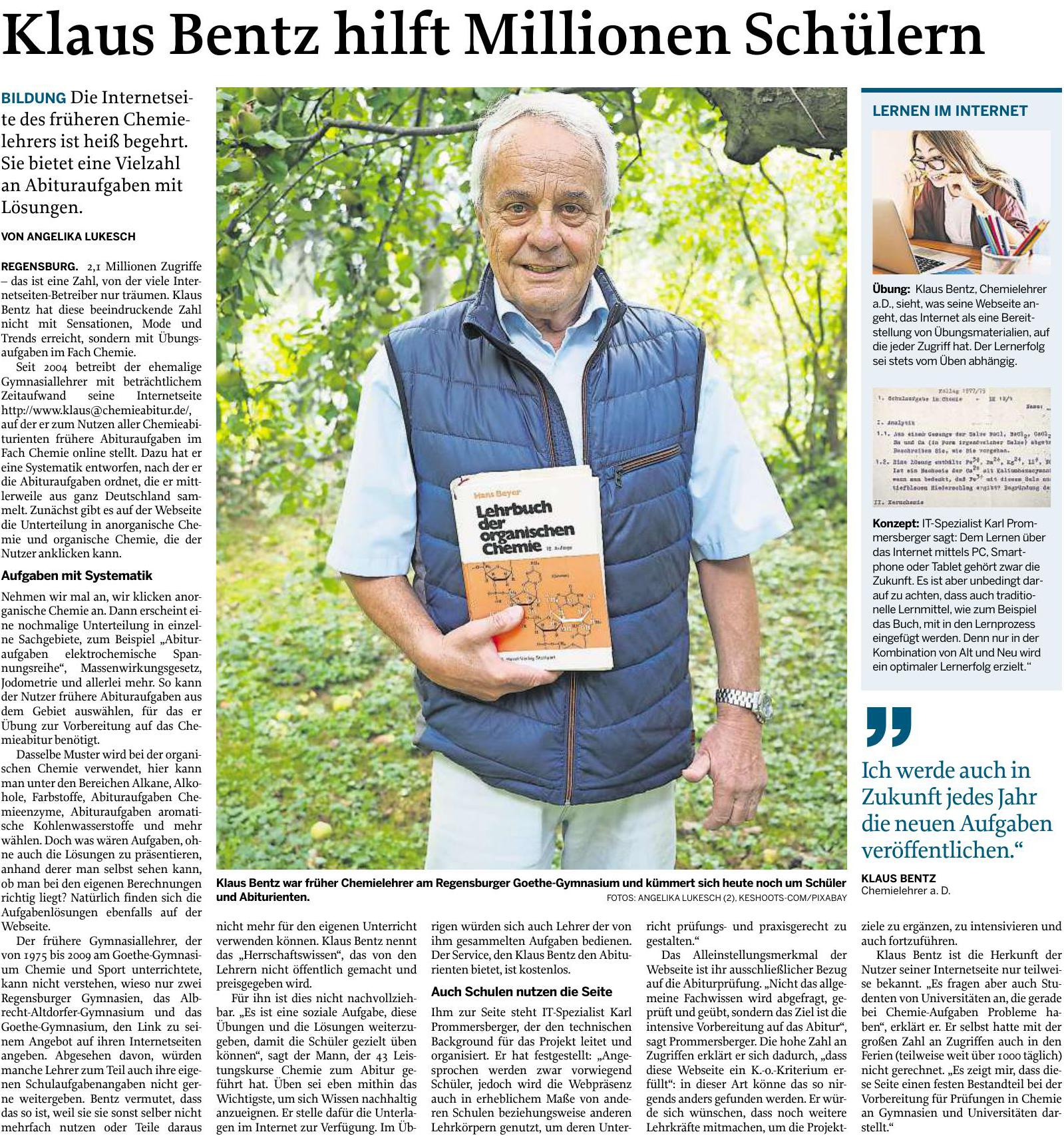 Mittelbayerische Zeitung Leserrezepte